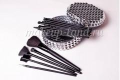 Профессиональный набор кистей для макияжа 12 шт